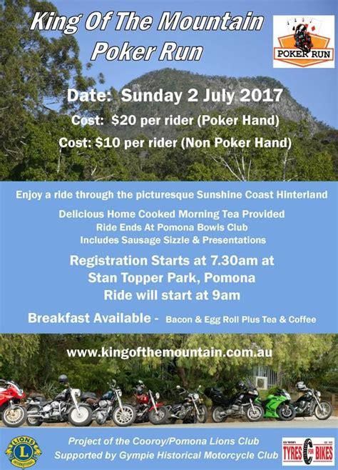 Pomona King Of The Mountain Poker Run 2017  2 July 2017