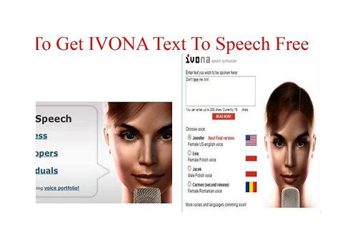 ivona text to speech free download apk