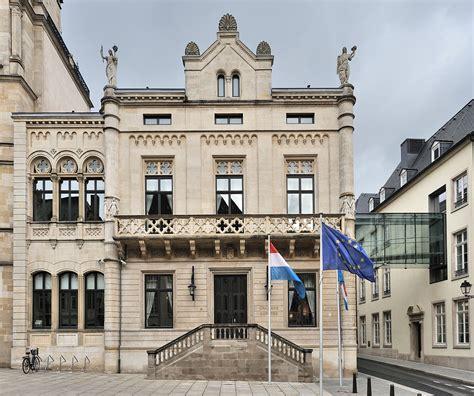 chambre des chambre des députés luxemburg