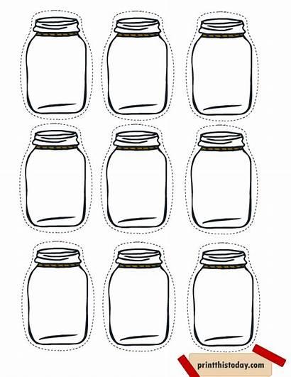 Jar Tags Printable Mason Homemade Labels Canning