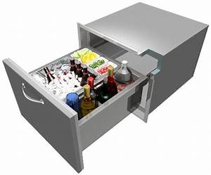 Alfresco 26-inch Under Counter Insulated Ice Drawer