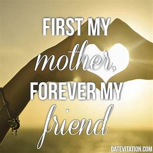 First my mother... Meeting Mom Quotes