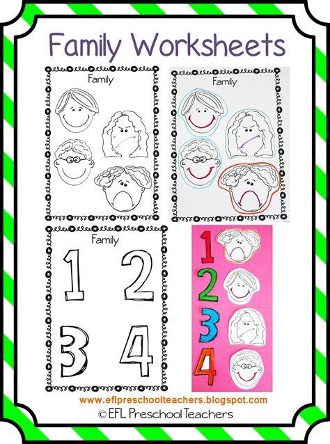 eslefl preschool teachers family theme  esl