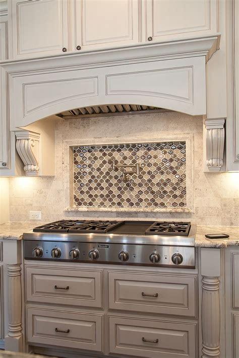 Kitchen Range Backsplash by Custom Kitchen By Cleve Adamson Custom Homes Master Chef