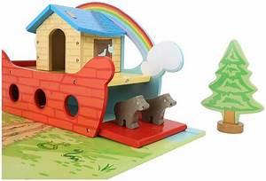 Arche Bébé Bois : arche de no jbd jouets en bois ~ Teatrodelosmanantiales.com Idées de Décoration