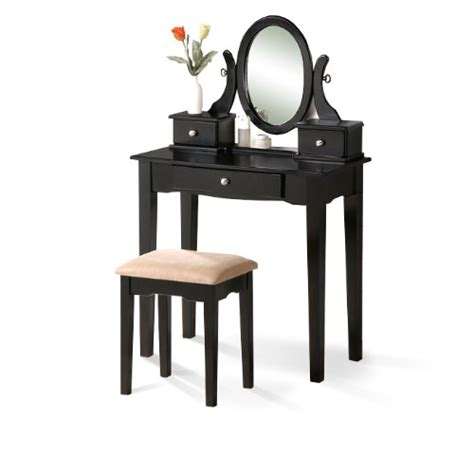 bedroom vanity makeup sets black vanity set with stool
