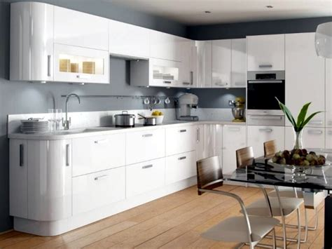 Kitchen Paint Ideas White Cabinets - modern high gloss kitchen in white 20 dream kitchens with high gloss fronts interior design