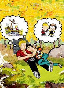 Calvin and Hobbes grown up by boomcow on DeviantArt