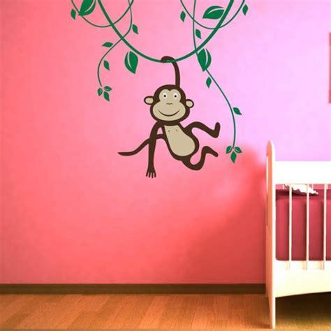 Wandtattoo Affe Kinderzimmer by Affe Im Jungle Wandtattoo Www Wohngenuss De