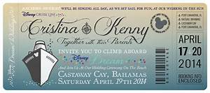 disney cruise wedding invitations by great heights paper With disney destination wedding invitations