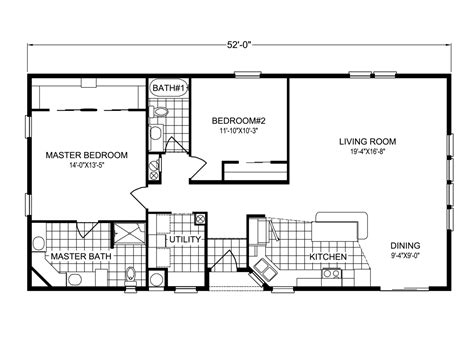 key biscayne tla manufactured home floor plan