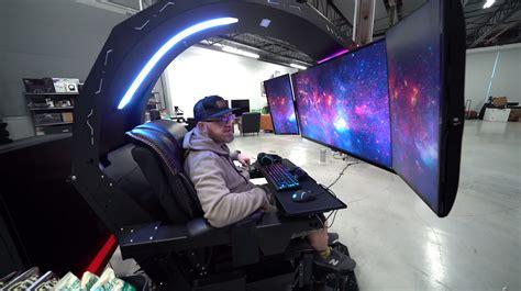 rig   craziest gaming setup weve