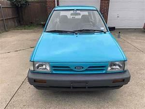 1993 Ford Festiva Hatchback Blue Fwd Manual L