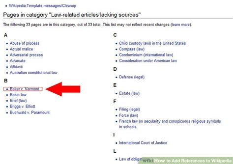 How To Add References To Wikipedia 6 Steps Wikihow