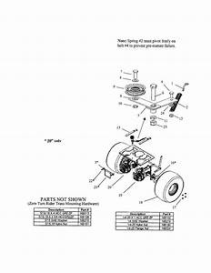 Wheel  Transaxle  Transmission Diagram  U0026 Parts List For Model Zt18542 Swisher