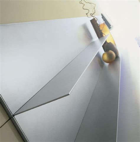 mensole alluminio mensole in alluminio per la casa linee semplici sottili