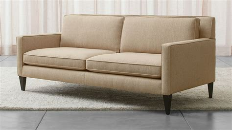 Modern Apartment Sofa by Rochelle Apartment Size Sofa Reviews Crate And Barrel