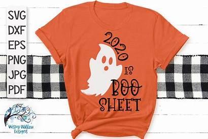Boo Svg Sheet Halloween Cut Funny Designs