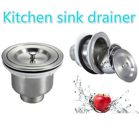 kitchen sink drain stainless steel kitchen sink water drainage xiancai basins 2679