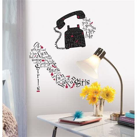 Bedroom Wall Stickers Lyrics by Just Want To Song Lyrics Wall Decals Dress