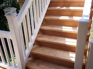 Vinyl Deck Stair Railing