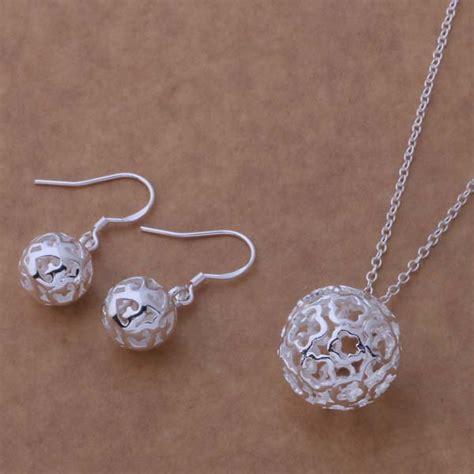 As224 Hot Sterling Silver Set, 925 Stamped Jewelry Sets