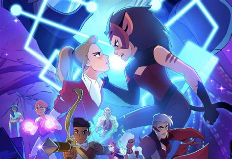 The best friend squad heads for the heart while the princesses attack the spire so entrapta can disrupt the chip network. She-Ra and the Princesses of Power Season 5 Poster Revealed