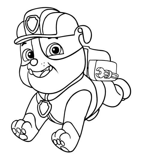 disegni da colorare paw patrol disegni da colorare paw patrol para colorear