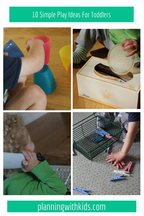 10 Simple Play Ideas For Toddlers (that Don't Involve Toys)  Planning With Kids