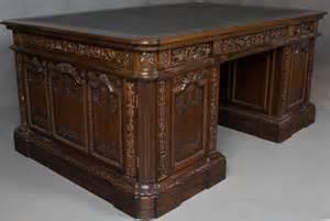 resolute presidents replica executive pedestal desk in