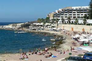 Bugibba Malta Beaches