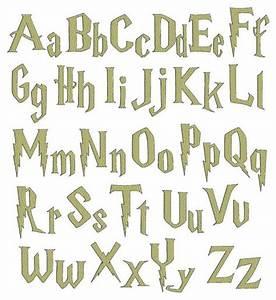 harry potter font alphabet wwwimgkidcom the image With harry potter letter stencils