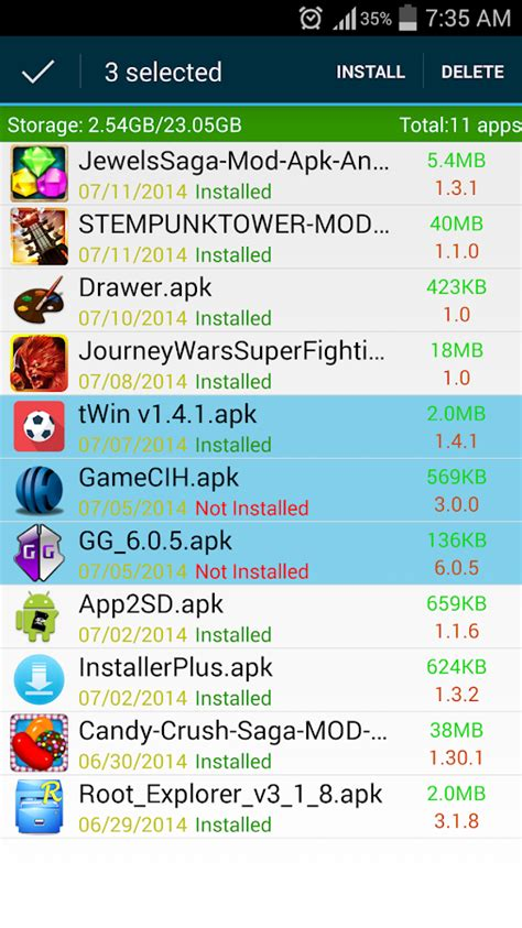 apk installer android apps play