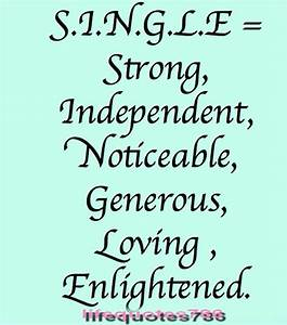 Famous quotes about 'Single Life' - QuotationOf . COM
