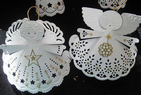 Ange De Noel à Fabriquer Des Petits Anges 224 Accrocher Dans Le Sapin Ou Pour D 233 Corer La Table De No 235 L Les Cr 233 Ations De Lilas