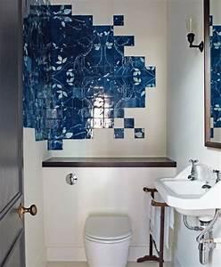 le carrelage mural en 50 variantes pour vos murs With carrelage adhesif salle de bain avec led décoration intérieur