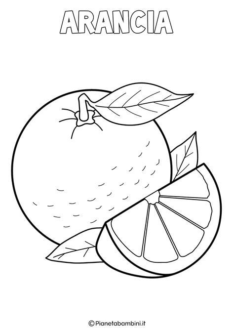 da colorare disegni di frutta invernale da colorare pianetabambini it
