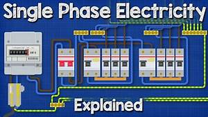 The 16 Best Single Phase Wiring Diagram For House Design