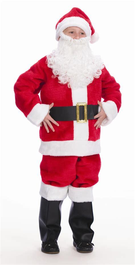 child sized santa claus