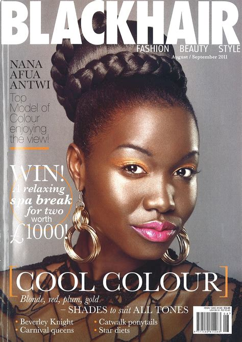 Is Black Hair Considered by Black Hair Magazine Hairstyle For