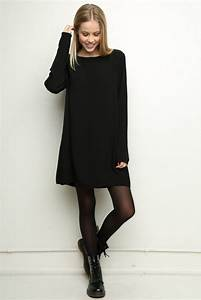 10 Little Black Dresses We Love Black tights, Dr martens and Top top