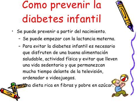 presentacion diabetes infantil