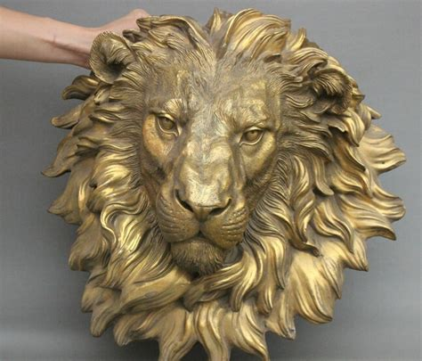 wholesale factory  chinese brass copper evil lion head