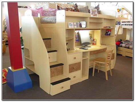 beds that have a desk underneath bunk bed with desk under bunks pinterest bunk bed