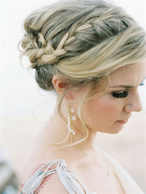 Updo Hairstyles With Braid by 8 Chic Braided Updos Updo Hairstyles Ideas Popular Haircuts