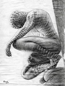 spiderman drawing by raghartist on DeviantArt
