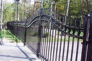 Iron Fence Panels The Landscape Design Image Of ~ loversiq