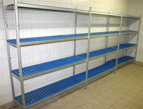 etagere pour chambre froide 4 metres 20 cm lineaires detageres de marque bourgeat pour