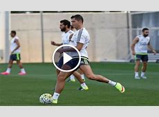 Real Madrid's training session for the Audi Cup