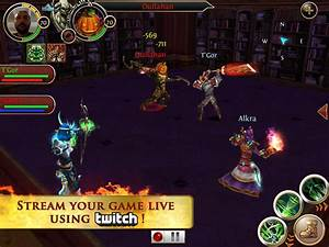 Gameloft39s order chaos online is first mobile mmorpg to for First order chaos online content update announced